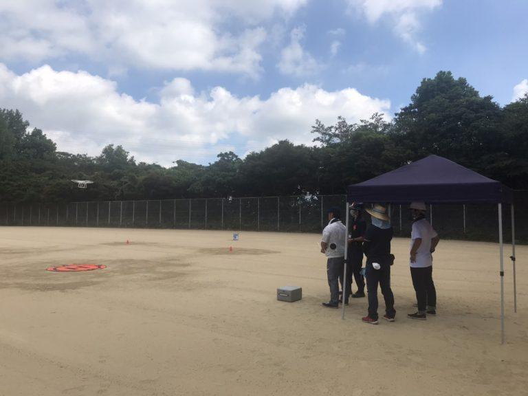 RUSEA広島福山支部 DRONEフライトオペレーター 講習 初開催 !!