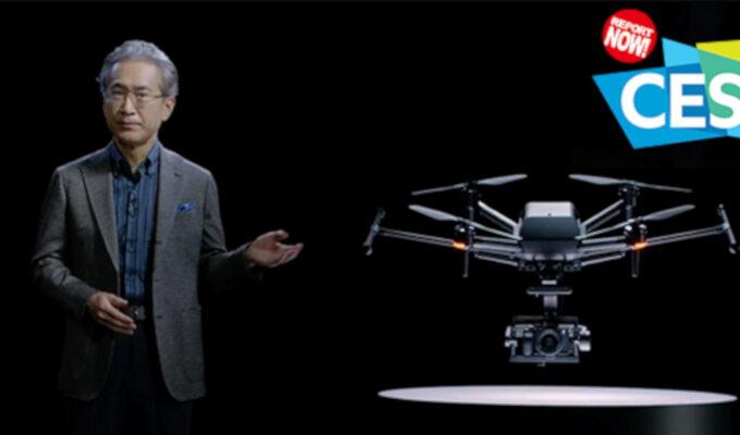 Sony、AirPeakドローン機体を発表 [CES2021]