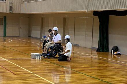 DPCA講習では車椅子での受講も可能です!